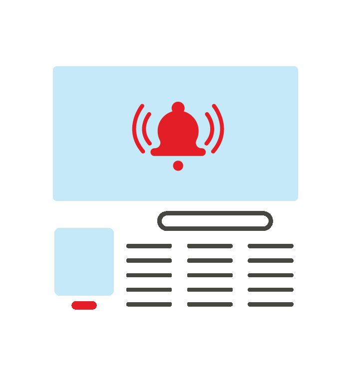 Reporting logo