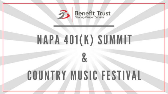 Napa 401(k) Summit Event